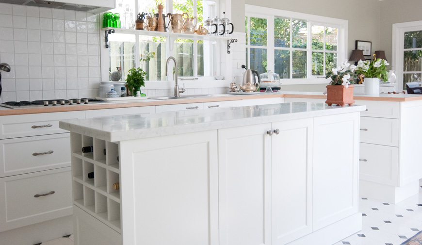 Polyurethane Painted Kitchen Cabinets