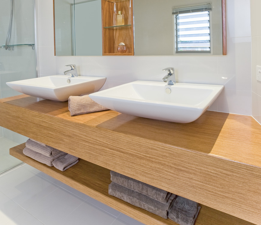 Custom Made Bathroom Vanity Units Melbourne contour cabinets – bathroom designs